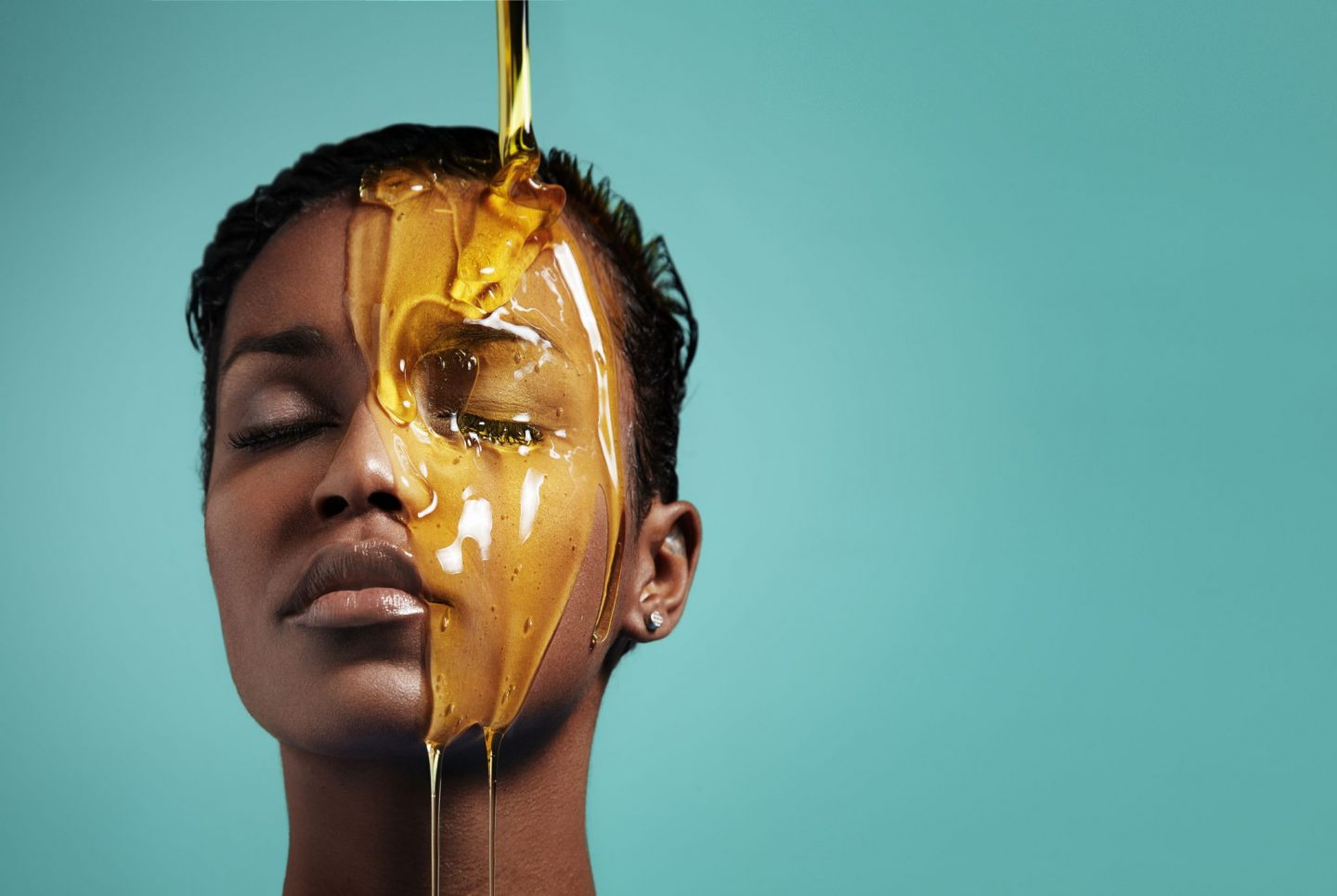 Women hair care for healthy natural hair for fall