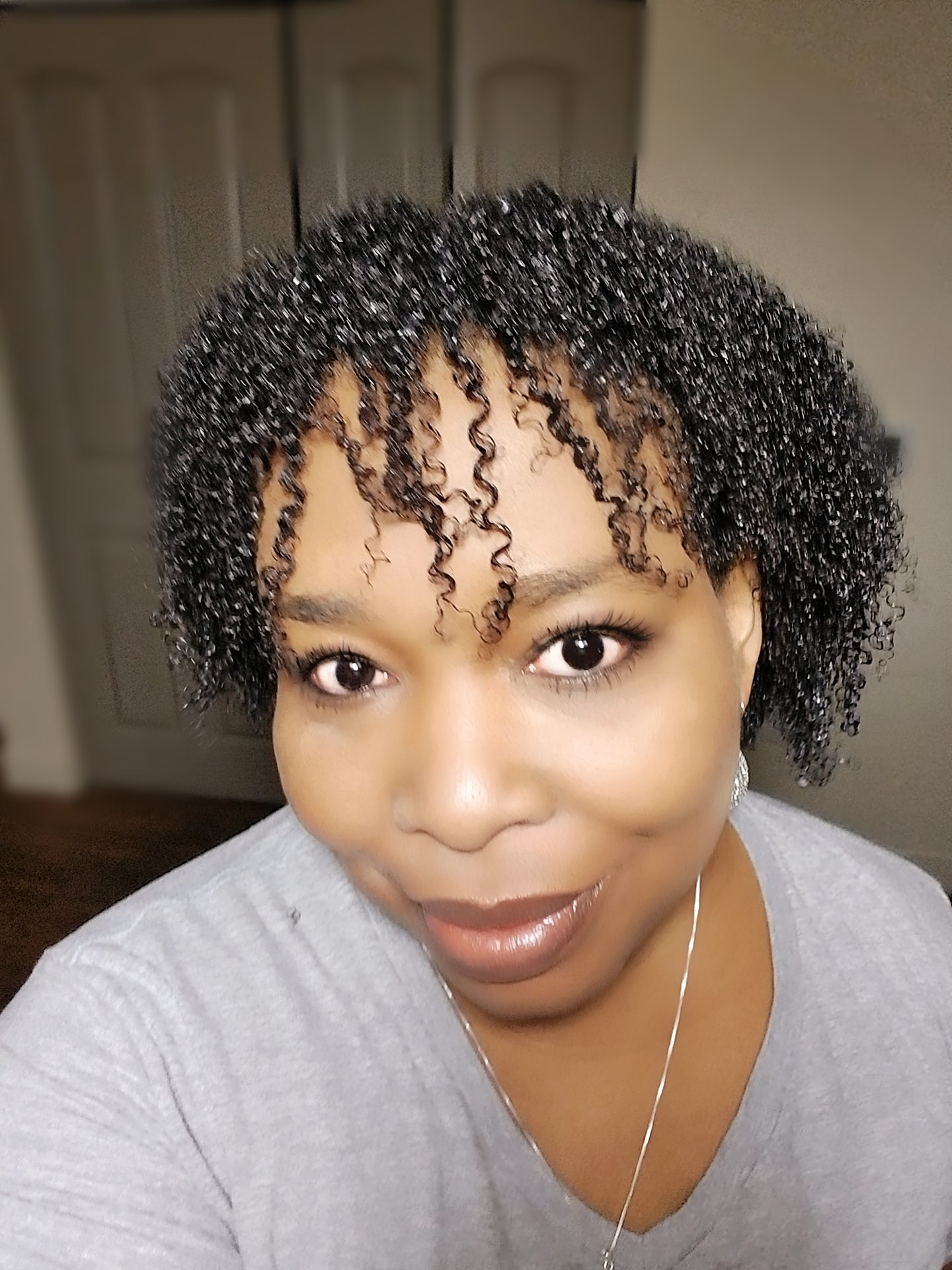 Natural Hairstyles For #NOHEAT Hair Challenge. Curly & Natural ...